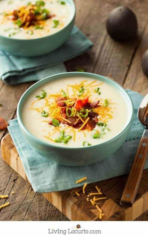 baked potato soup easy instant pot recipe