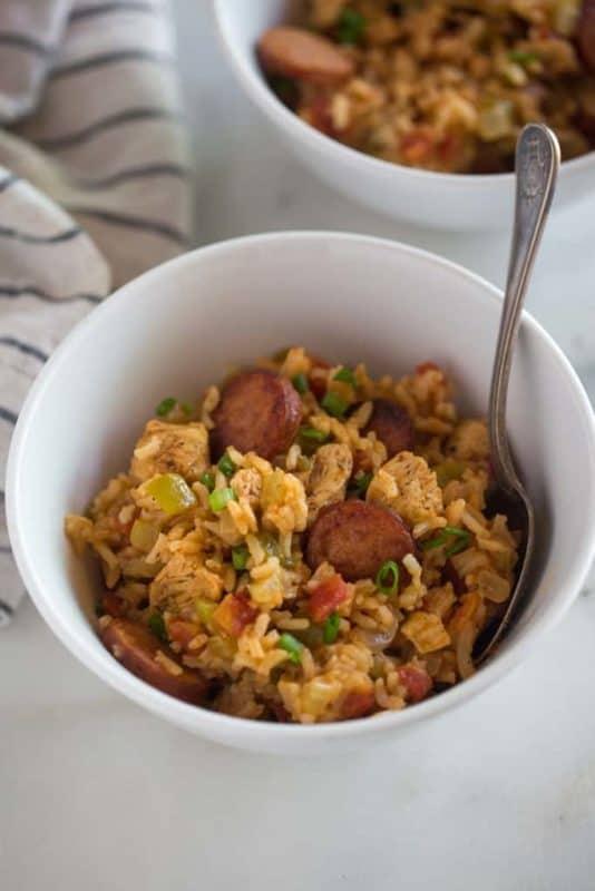 jambalaya easy instant pot meal