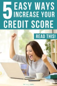 "I have been struggling with my credit score for years. I was searching for an article that shared those ""quick wins"" to help improve my credit fast. Luckily I came across this AMAZING article! So many useful tips and tricks on improving and repairing my credit score. So excited to improve my credit score so we can purchase our first home. #CreditScore #Finance #Money #Credit #DaveRamsey #CreditRepair"