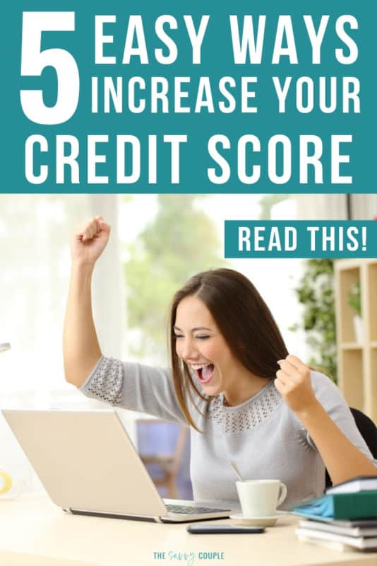 """I have been struggling with my credit score for years. I was searching for an article that shared those """"quick wins"""" to help improve my credit fast. Luckily I came across this AMAZING article! So many useful tips and tricks on improving and repairing my credit score. So excited to improve my credit score so we can purchase our first home. #CreditScore #Finance #Money #Credit #DaveRamsey #CreditRepair"""