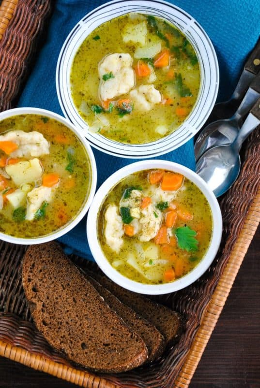vegetable and dumpling soup cheap dinner ideas without meat