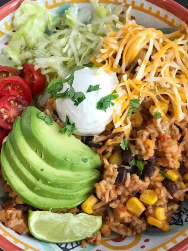 chicken burrito easy instant pot recipes