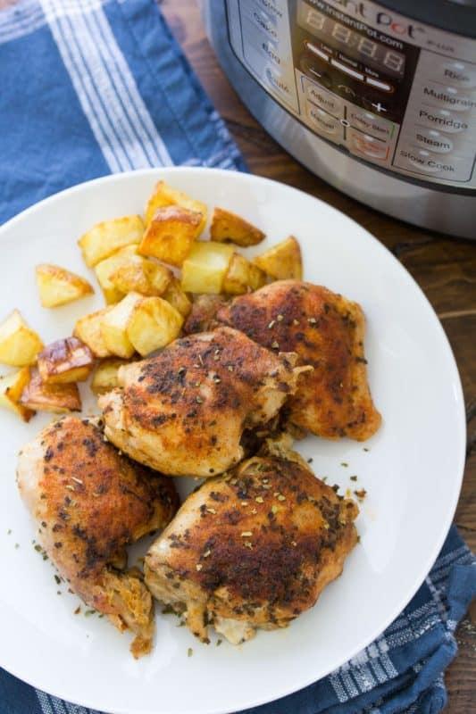 chicken thighs easy instant pot recipe