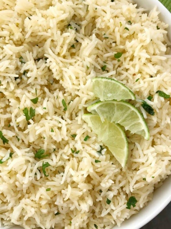 cilantro lime rice easy instant pot recipe
