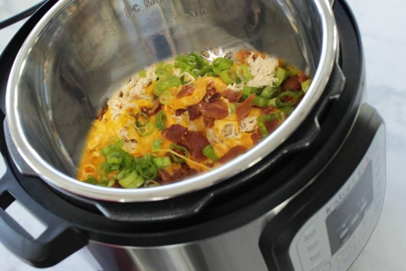 crack chicken easy instant pot recipe