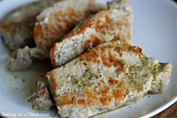 buttery ranch pork chops easy instant pot recipe