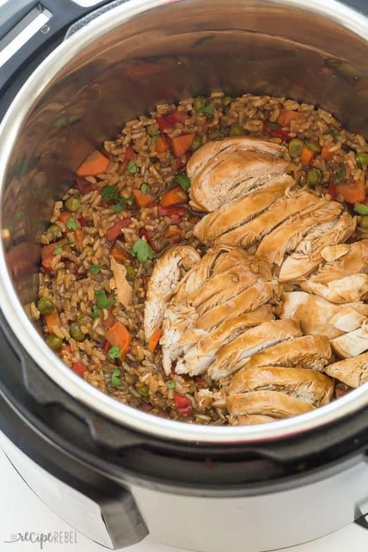 teriyaki chicken & rice easy instant pot recipes