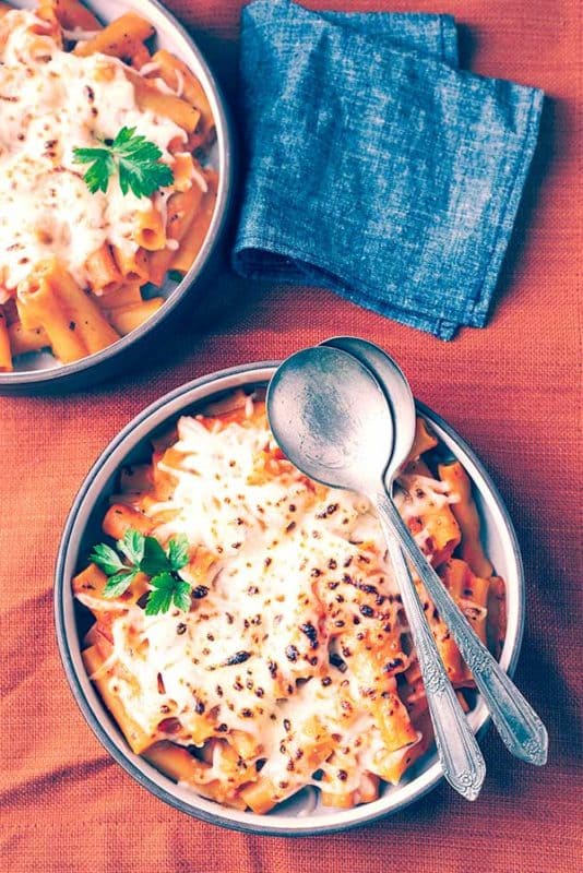 baked ziti easy instant pot recipe