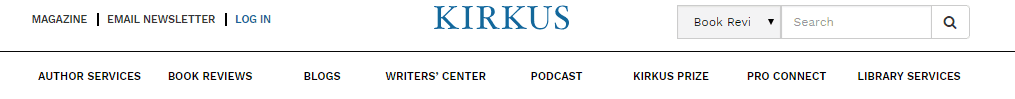 Kirkus Screenshot for Online Proofreading Jobs