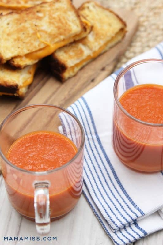 vegan tomato soup and grilled cheese cheap dinner ideas