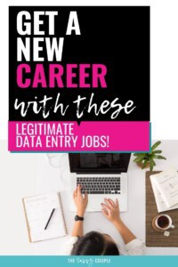 I love typing! I never knew I could make great money from home doing data entry. Talk about a dream come true! Check out these 15 data entry jobs for beginners and get started today. #DataEntryJobs #WorkFromHome #MakeMoneyOnline #MakeMoneyFromHome #StayAtHomeMomJob #ComputerJobs #Freelancing