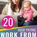 These legitimate work from home jobs are AMAZING! I have been looking everywhere for remote work that would allow me to stay at home with my kids. I love the flexibility in schedules, high paying wages, and the ability to make extra money that these remote jobs allow. Perfect for stay at home moms! Pin this for others! #WorkFromHome #StayAtHomeMomJobs #Freelancing #VirtualAssistaint