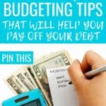 I can't believe that some of these budgeting tips are so simple and straightforward and yet I never even knew them! And here I thought I had budgeting under control. Definitely pinning this to refer back to, and improve on my budgeting game! #BudgetingTips #BudgetingTipsForFamilies #DaveRamsey #DebtPayoff #SaveMoney #ManageMoney #MoneyTips #PersonalFinance