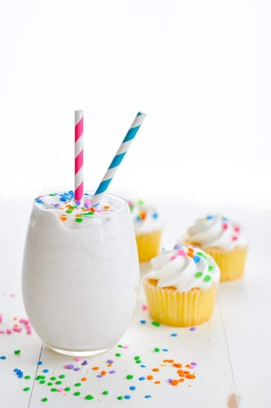 cake batter weight loss smoothie