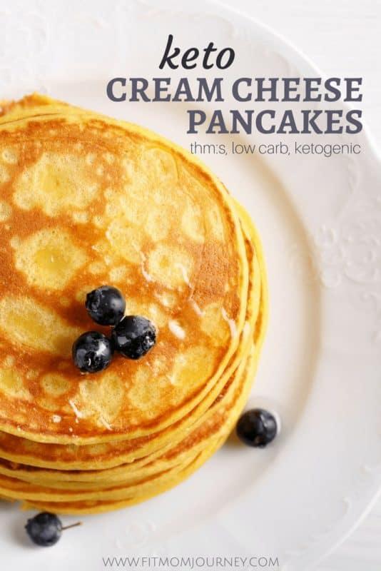 Keto Recipes Cream Cheese Pancakes