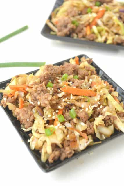 KETO EGG ROLL IN A BOWL keto recipes