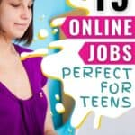 Oh my goodness, I can't believe how many awesome online jobs there are that my kids could totally do this summer! I mean, I might even try some of these for myself!!! Can't wait to show this list to my kids and see what they think! #OnlineJobsForTeens #WorkFromHome #OnlineJobs #MakeMoneyOnline