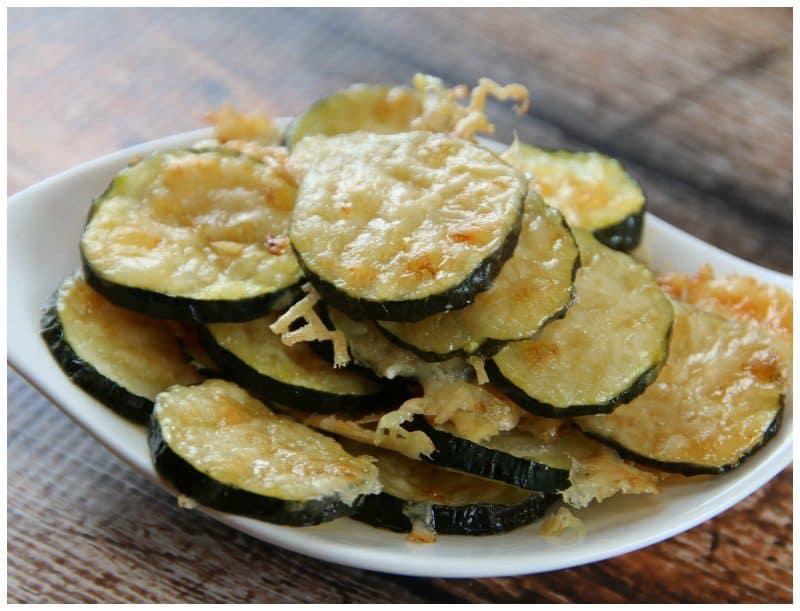Low Carb Zucchini Parmesan Chips – Keto Friendly Recipe
