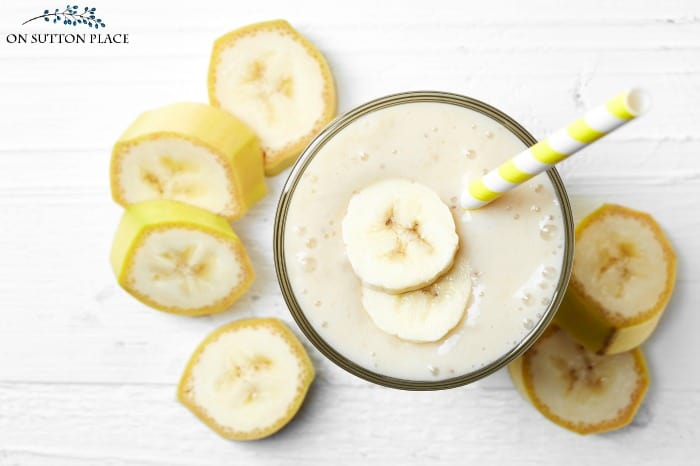 banana oatmeal weight loss smoothie