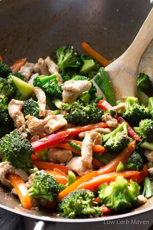 EASY PORK STIR FRY RECIPE WITH VEGETABLES KETO RECIPES