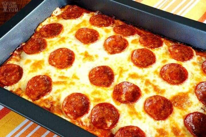 Low Carb Pizza Casserole – Gluten Free & Keto Recipe