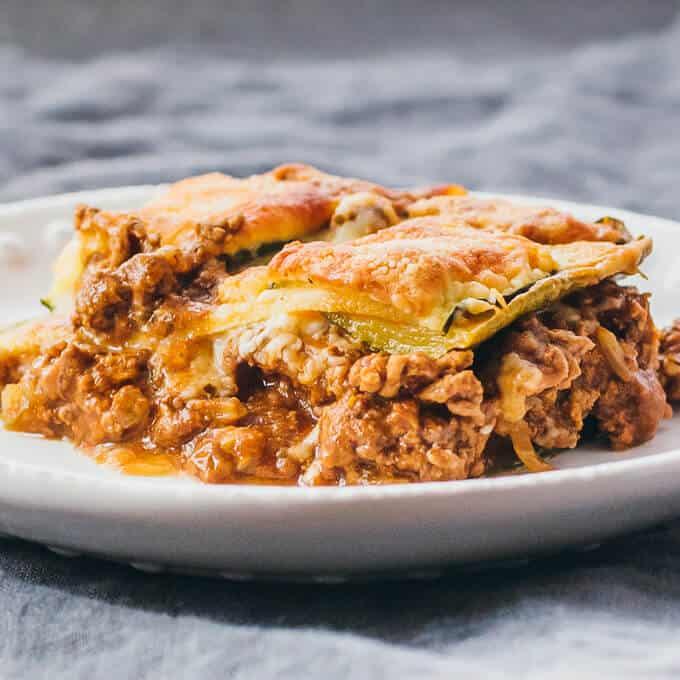 keto recipes zucchini lasagna