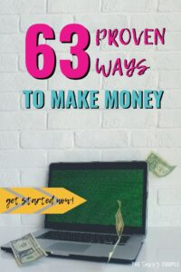 These money making ideas are AMAZING! I don't know about you but I could always use some extra cash. Fantastic ideas to make money online fast. #MakeMoney #HowtoMakeMoney #MakeMoneyFast #MakeMoneyFromHome #SideHustle #MakeMoneyIdeas #MakeMoneyonPinterest