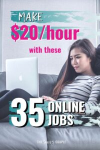 I can't believe how many different options there are for making money with an online job! I mean, a lot of these definitely pay more per month than our 2-income household makes! WOAH! Definitely pinning this so I have this awesome list to start researching which of these online jobs is the best fit for me! #OnlineJobs #WorkFromHome #PartTimeJobs #PartTimeJobsOnline #OnlineJobsForCollegeStudents #OnlineJobsLegitimate