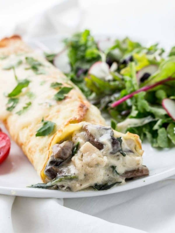 chicken florentine crepes low carb recipes