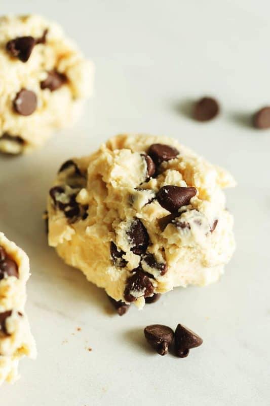low carb recipes edible cookie dough