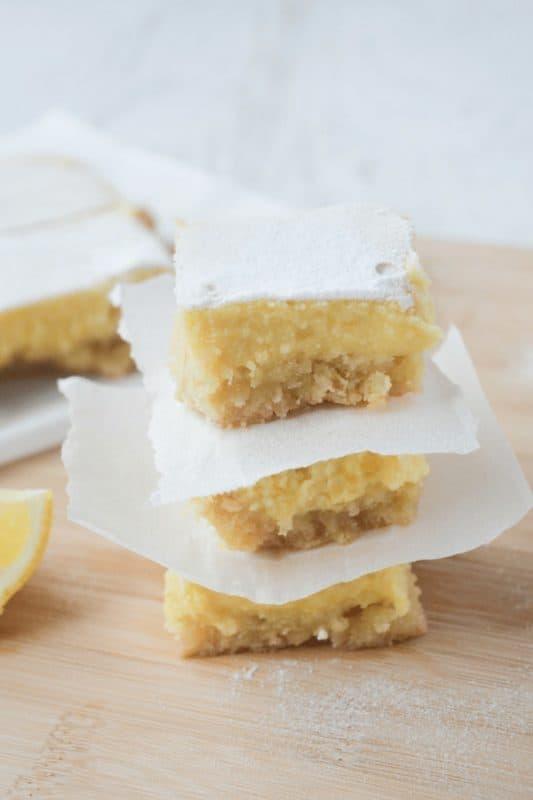 low carb recipes keto lemon bars