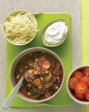 low carb recipes vegetarian black bean chili