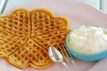 keto waffles low carb breakfast recipe