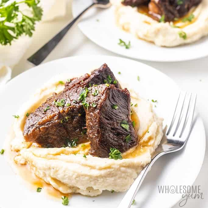 instant pot beef short ribs low carb recipes