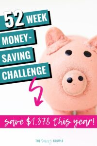 What an awesome resource to cover everything I needed to know about the 52 Week Money Challenge! I don't know why I thought saving money was so hard before -- this makes it sound SO EASY! I cannot wait to get started with being better at managing money for us, and seeing the savings grow year after year! #52WeekMoneyChallenge #Printable #MoneyChallengeChart #SaveMoney #MoneySavingHacks