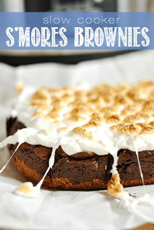 slow cooker brownies easy dessert recipe