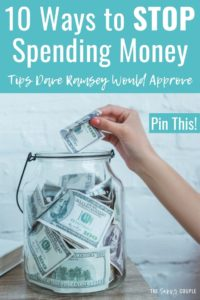 I am so happy I found this article! My families spending has been completely out of control and I needed help on learning how to stop spending so much money every month. These simple personal finance and money tips really help me understand how to budget, save money, and plan for the future with our finances. Read this! #SaveMoney #StopSpending #SavingChallenge #DaveRamsey #MoneyTips #PersonalFinance #FrugalLiving