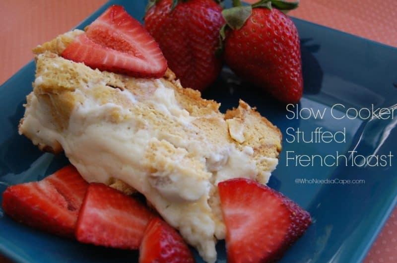 stuffed french toast slow cooker breakfast recipe