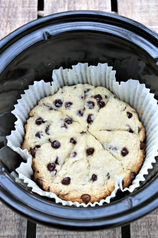 chocolate chip scones slow cooker desserts