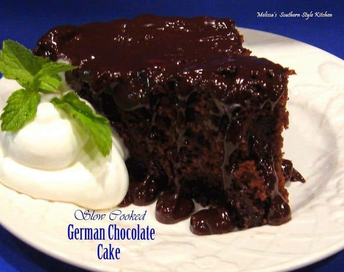 german chocolate cake easy slow cooker desserts