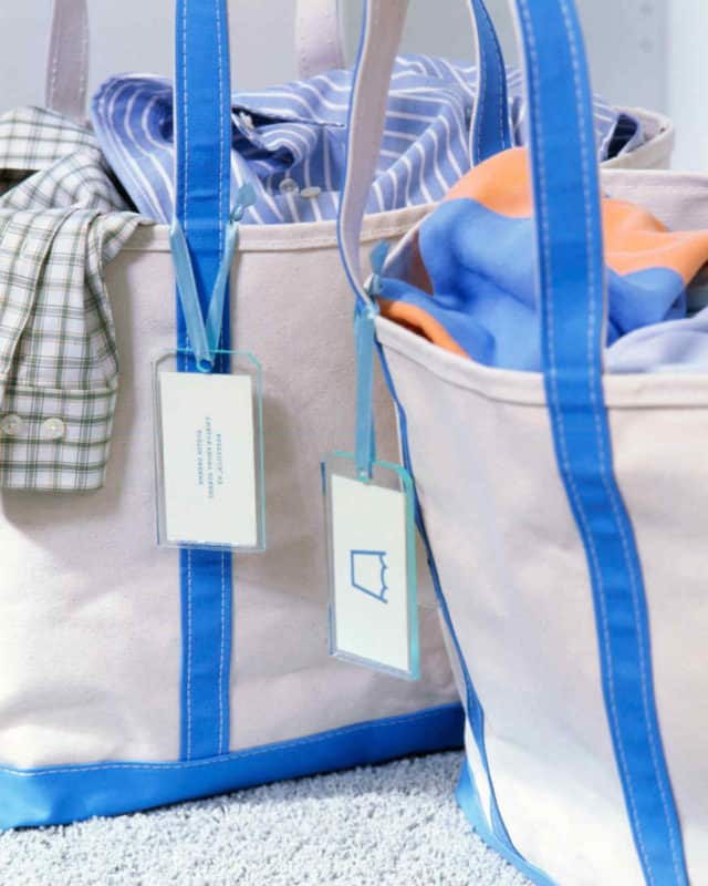 washing tote bags laundry room ideas