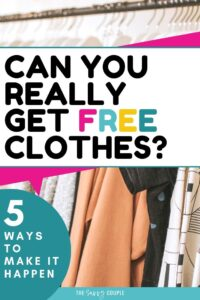 I LOVE getting free things! I don't think anything beats getting free clothes! This article has absolutely genius ways to get free clothes from major companies. All can be done online and is shipped directly to your home by mail. 100% legit! Pin this now! #FreeClothes #Sample #FreeClothesOnline #FreeClothesByMail #HowToGetFreeClothes #Free #Freebie #SaveMoney #Frugal #WomansClothes