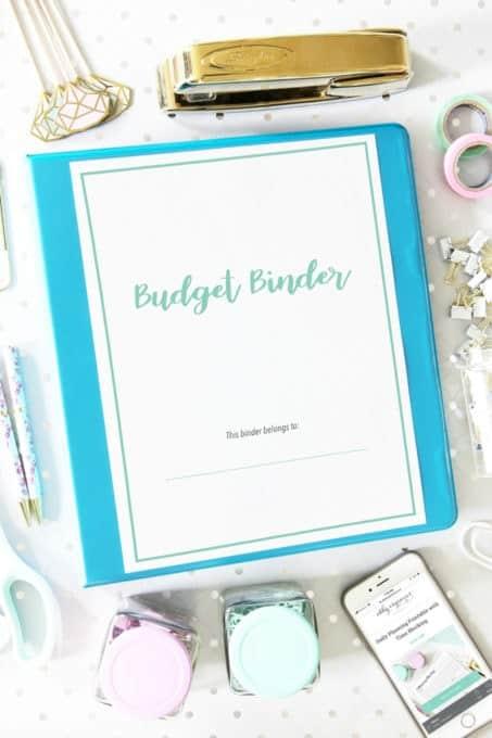 2019 Budget Binder Cover