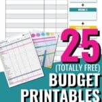 I love this list of free budget printables, but at the same time, I'm going to have a hard time picking a favorite to stick to! I suppose it might be an ok idea to try one budgeting template each month, partly to keep me well on top of my budgeting, and partly to test them all out to find a favorite! I cannot wait for these budget printables to help me better manage my finances! #BudgetPrintables #PrintableBudgetTemplate #DebtPayoff #Budget #ManageYourMoney #BudgetTemplate #BudgetTips