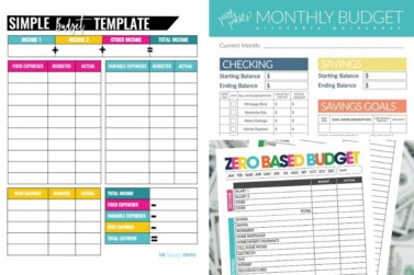 25 Free Budget Printables That'll Help You Manage Your Money Fast