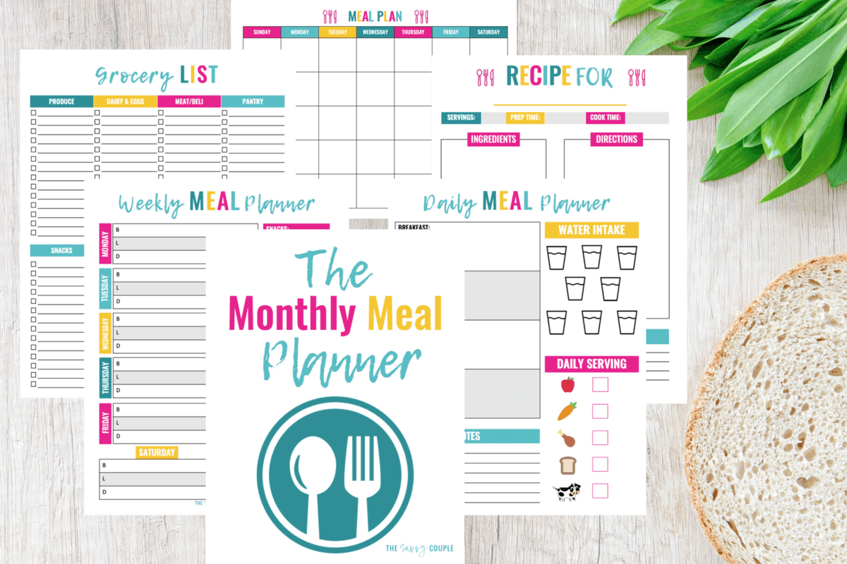 The Monthly Meal Planner