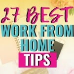 I would love to work from home and these tips are just what I need to know that it IS something I could do! I've tried to put myself in the mindset to get ready for it, but I never could until I found this great list of things I need to know to make sure I'm staying productive and getting things accomplished! #WorkFromHome #Tips #WorkAtHome #Productivity #SetGoals #TimeManagement #Mom #Career #Life #WorkLifeBalance