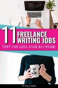I never knew that getting freelance writing jobs could be so, well, easy! I always thought you had to have a ton of writing experience, but apparently anyone can get started on this side hustle! Definitely pinning this to keep as a killer resource! #FreelanceWritingJobs #FreelanceWriter #WorkFromHome #StayAtHomeMomJobs #MakeMoney #MakeMoneyOnline #WorkFromHomeJob #MakeMoneyFromHome #WritingJobs