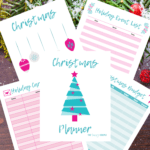 This Christmas planner is THE BEST! I'm so glad I found this AMAZING Christmas organization planner! Now I have great ways to keep my spending organized and holiday planned out! This is going to make Christmas and my holidays stress-free. Pin this for later! #Christmas #planner #holiday #familybudget #printables #giftguide #organization #onlineshopping #tracker #stressfree #stockingstuffers