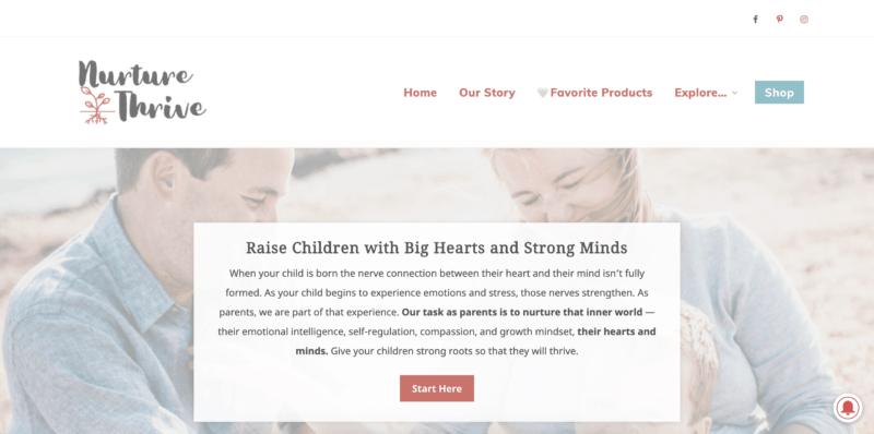 parenting blogs nurture & thrive